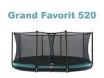 Berg Inground Grand Favorit grün 520 x 350 oval mit...